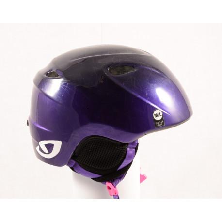 lyžiarska/snowboardová helma GIRO SLINGSHOT violet, nastaviteľná