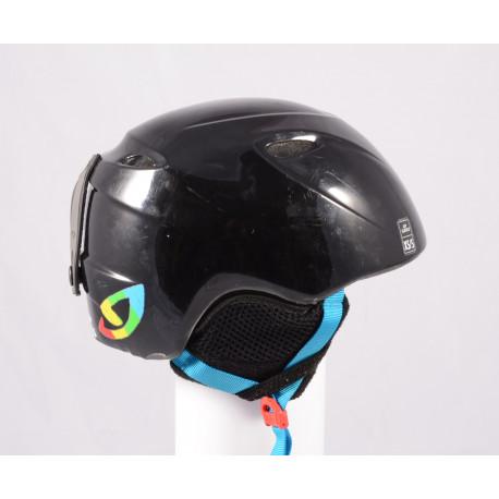 lyžařská/snowboardová helma GIRO SLINGSHOT, Black, nastavitelná ( TOP stav )