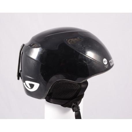 lyžiarska/snowboardová helma GIRO SLINGSHOT, Black/black, einstellbar ( TOP stav )