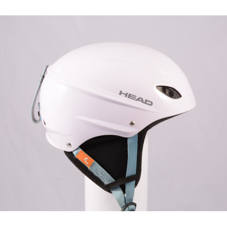 lyžařská/snowboardová helma HEAD 2020 WHITE/blue, nastavitelná ( TOP stav )