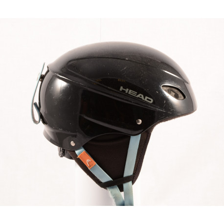 lyžařská/snowboardová helma HEAD BLACK/blue, nastavitelná