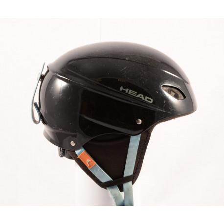 skidhjälm/snowboardhjälm HEAD BLACK/blue, justerbar