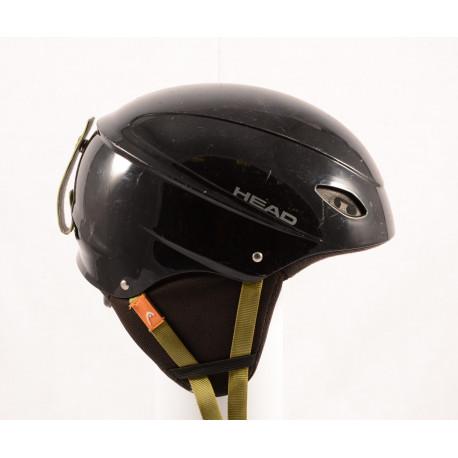 lyžiarska/snowboardová helma HEAD BLACK/green, nastaviteľná