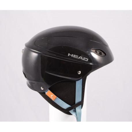 lyžiarska/snowboardová helma HEAD BLACK/blue, einstellbar