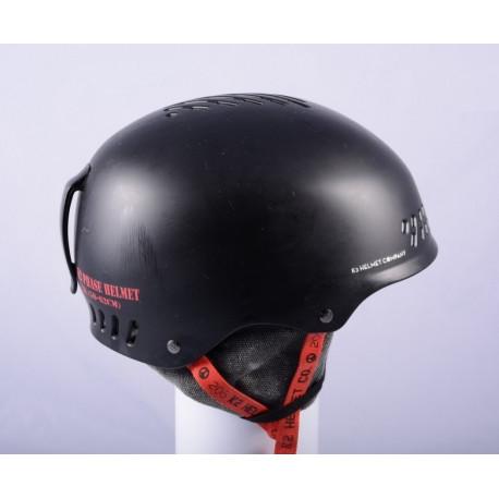 lyžiarska/snowboardová helma K2 PHASE, Black/red, nastaviteľná