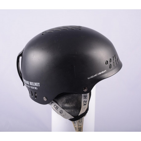 skidhjälm/snowboardhjälm K2 PHASE, BLACK/grey, justerbar