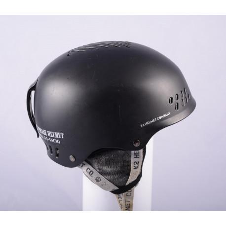 skihelm/snowboardhelm K2 PHASE, BLACK/grey, verstelbaar