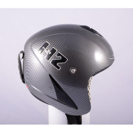 lyžiarska/snowboardová helma HMR H2 real CARBON TITANIUM, AIR ventilation ( TOP stav )