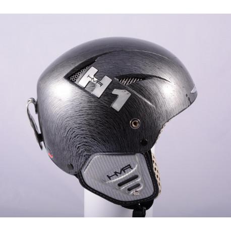 lyžařská/snowboardová helma HMR H1 EVOLUTION real CARBON TITANIUM, AIR ventilation ( TOP stav )