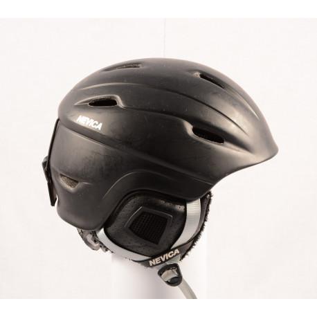 lyžiarska/snowboardová helma NEVICA VAIL black/matt, einstellbar