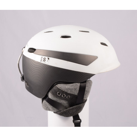 Skihelm/Snowboard Helm PRET EFFECT GRENZWERTIG 2019, WHITE/grey, Air ventilation, einstellbar ( TOP Zustand )