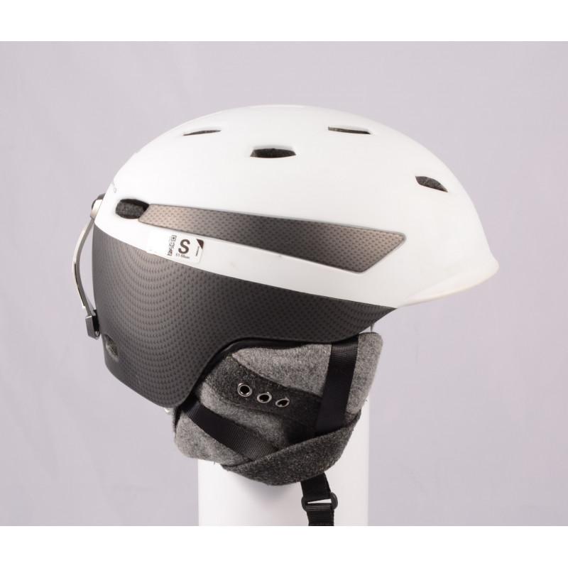 lyžiarska/snowboardová helma PRET EFFECT GRENZWERTIG 2019, WHITE/grey, Air ventilation, einstellbar ( TOP stav )