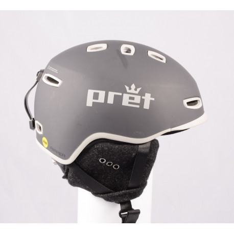 lyžiarska/snowboardová helma PRET RIPPER X Grey 2019, einstellbar ( TOP stav )
