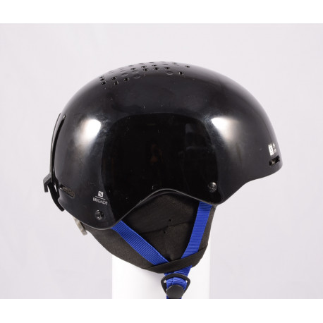 Skihelm/Snowboard Helm SALOMON BRIGADE 2020, Black/dark blue, einstellbar ( TOP Zustand )