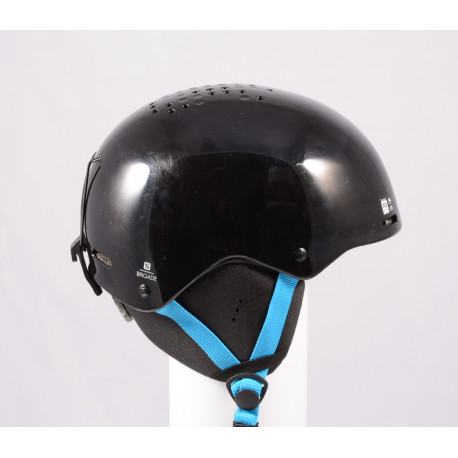 ski/snowboard helmet SALOMON BRIGADE 2020, Black/blue, adjustable ( like NEW )