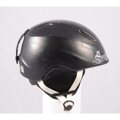 lyžařská/snowboardová helma SALOMON DRIFT KID Black, nastavitelná