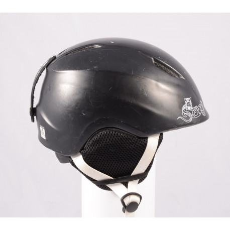 lyžiarska/snowboardová helma SALOMON DRIFT KID Black, einstellbar