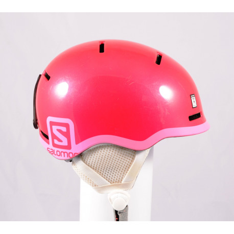 ski/snowboard helmet SALOMON GROM GLOSSY 2020, Pink, adjustable ( TOP condition )