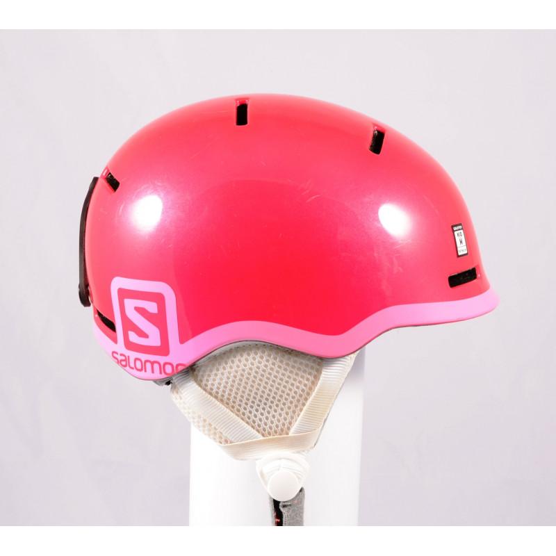 lyžiarska/snowboardová helma SALOMON GROM GLOSSY 2020, Pink, einstellbar ( TOP stav )