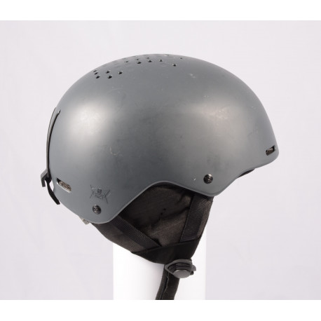 Skihelm/Snowboard Helm SALOMON PACT GREY 2020, einstellbar ( TOP Zustand )