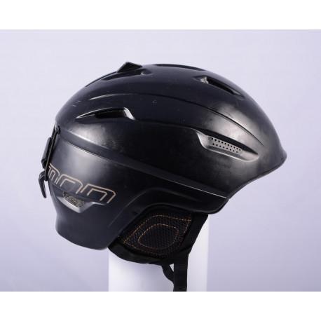 ski/snowboard helmet SALOMON RANGER black, ventilation