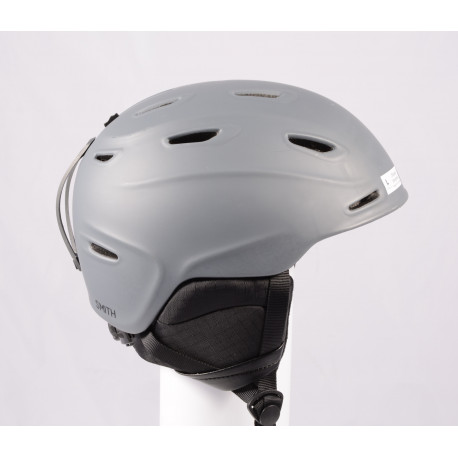 lyžiarska/snowboardová helma SMITH ASPECT 2019 Grey, Air ventilation, einstellbar ( TOP stav )