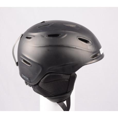lyžiarska/snowboardová helma SMITH ASPECT 2020, BLACK/matt, Air ventilation, einstellbar