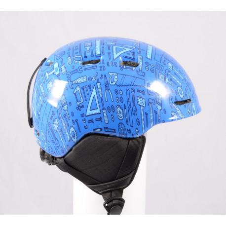 lyžařská/snowboardová helma SMITH ZOOM JR. 2019 Blue, nastavitelná ( jako NOVÁ )