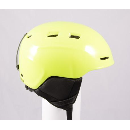 lyžiarska/snowboardová helma SMITH ZOOM JR. 2019 Yellow, einstellbar, air vent ( TOP stav )
