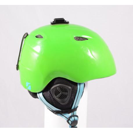 ski/snowboard helmet STUF AZURA Green, adjustable ( TOP condition )