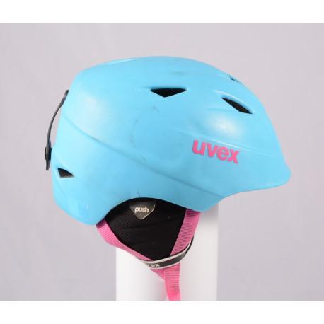 lyžiarska/snowboardová helma UVEX AIRWING 2 PRO 2019 Blue, einstellbar