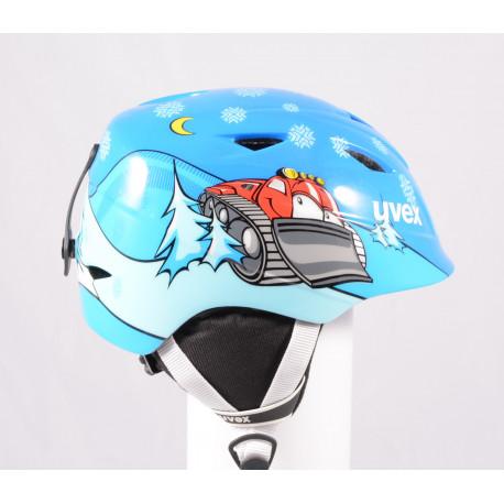 kask narciarsky/snowboardowy UVEX AIRWING 2, 2020, Blue, regulowany ( jak NOWY )