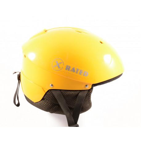 ski/snowboard helmet X RATED yellow