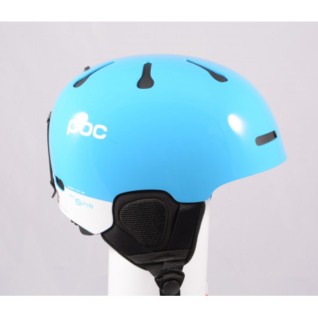 ski/snowboard helmet POC AURIC CUT BC SPIN 2020, Blue, Air ventilation, adjustable, Recco ( NEW )