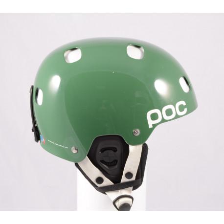 lyžařská/snowboardová helma POC RECEPTOR BUG ADJUSTABLE 2.0, Green, nastavitelná, Recco ( NOVÁ )