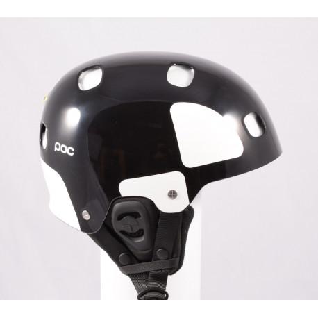 new ski/snowboard helmet POC RECEPTOR BUG BACKCOUNTRY, Uranium black, Recco ( NEW )