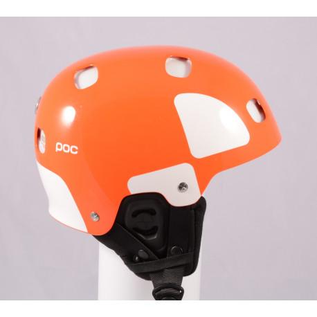 lyžařská/snowboardová helma POC RECEPTOR BUG BACKCOUNTRY, Orange, Recco ( NOVÁ )