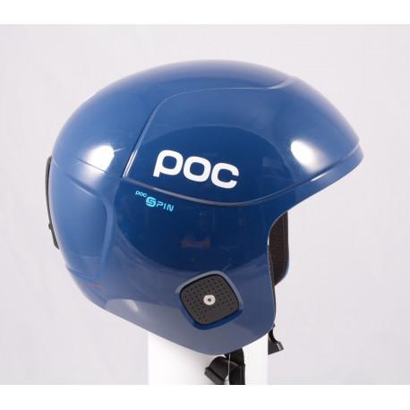 lyžařská/snowboardová helma POC SKULL ORBIC X SPIN 2020 Lead Blue, FIS, POC SPIN ( NOVÁ )
