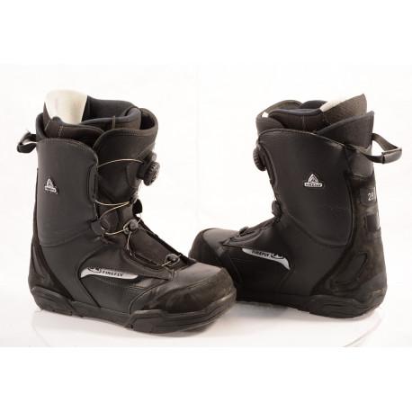 snowboardové topánky FIREFLY ATOP lacing system, BLACK ( ako NOVÉ )