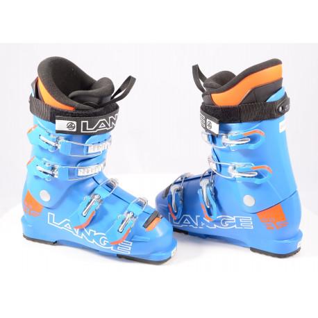 children's/junior ski boots LANGE RS 65 RACE Blue/orange