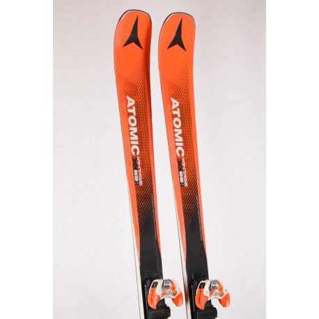 skis ATOMIC VANTAGE X 83 Cti, CARBON TANK mesh,TITANIUM, AM rocker + ATOMIC WARDEN 13