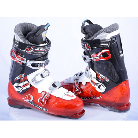 lyžiarky NORDICA TRANSFIRE 90 R3R, RED/black/white, comfort fit, antibacterial, canting