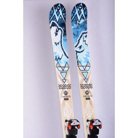 skialp lyže VOLKL AMARUQ, backcountry touring ski + Marker Tour F12 + Pásy ( ako NOVÉ )