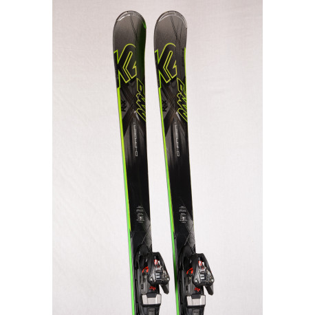 esquís K2 AMP CHARGER RX, Metal laminate, Speedrocker, woodcore, titan + Marker XCELL 12 ( Condición TOP )