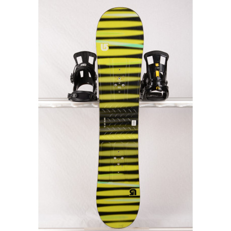 detský/juniorský snowboard BURTON PROGRESSION LTR green/stripes, Woodcore, FLAT/Rocker