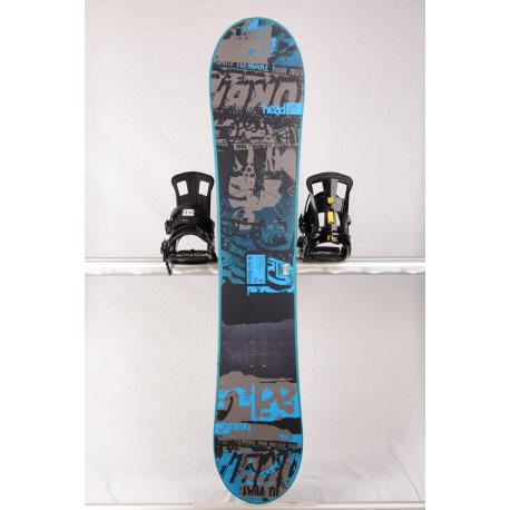snowboard HEAD FLOCKA LFW 4D 2018, BLACK/blue, Woodcore, framewall, ROCKER ( TOP staat )