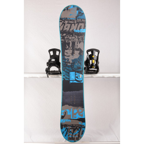 snowboard HEAD FLOCKA LFW 4D 2018, BLACK/blue, Woodcore, framewall, ROCKER ( TOP-tillstånd )