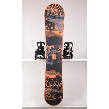 snowboard HEAD FLOCKA LFW 4D, BLACK/orange, Woodcore, framewall, FLAT/ROCKER ( TOP stav )