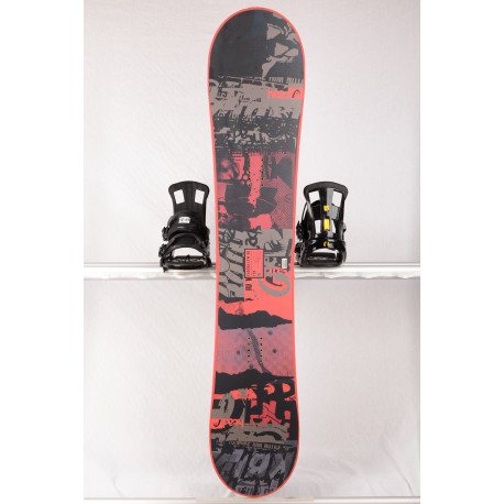 snowboard HEAD FLOCKA LFW 4D 2018, BLACK/red, Woodcore, framewall, ROCKER