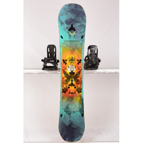 snowboard SALOMON GYPSY, CARBON, WOODCORE, BAMBOO, ROCK OUT HYBRID/ROCKER ( TOP stav )